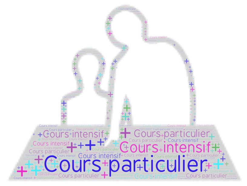 One to one General French Course, complementing the intensive course