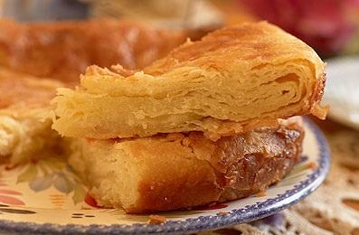 le kouign amann, littéralement le gâteau au beurre porte bien son nom.
