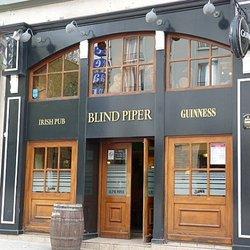 Bar Le Blind Piper au Centre ville de Brest